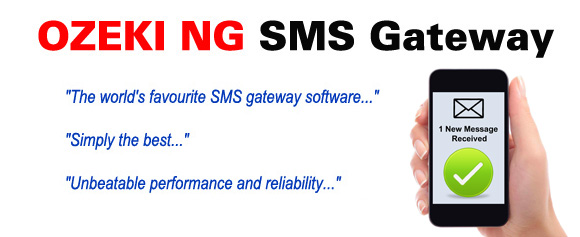SMS Gateway for Windows with SMPP,UCP,CIMD2 and GSM modem