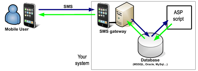 sql sms gateway configuration for asp sms solutions
