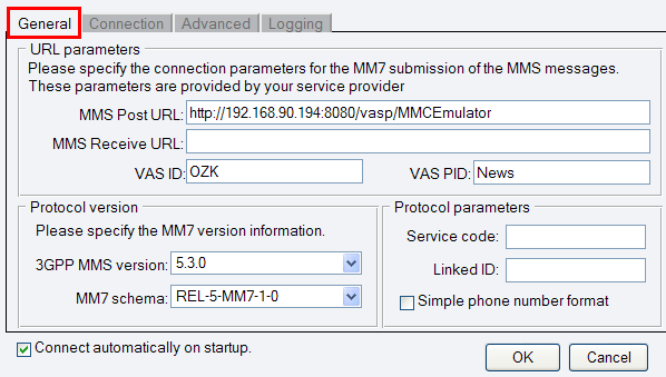 SMS Gateway - Service Provider Connections, Send MMS via MM7