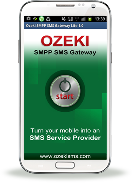 SMS Gateway - Android, Quick start